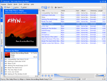 Amarok Linux Music Player