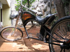 Custom Chopper Bicycle 01