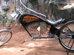 Custom Chopper Bicycle 04